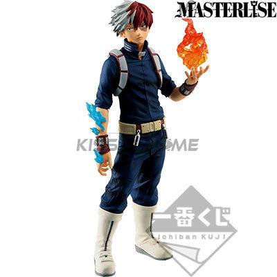 Ichiban kuji My Hero Academia One's Justice Masterlise figure Todoroki