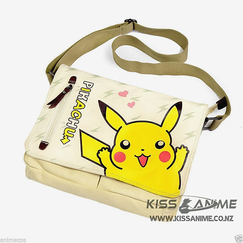 Pokemon Pikachu Messenger Bag Cosplay Shoulder Bag