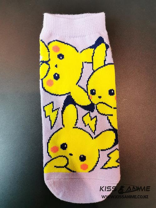 Pokemon Pikachu Socks
