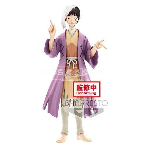 PRE-ORDER Dr. Stone Figure of Stone World: Gen Asagiri & Senku Ishigami