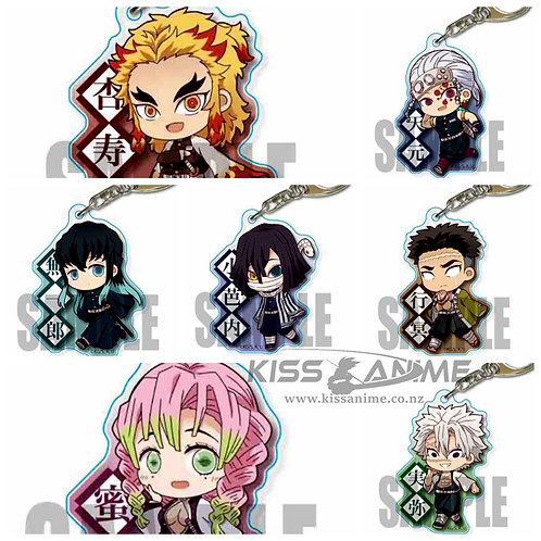 Demon Slayer: Kimetsu no Yaiba Keychains