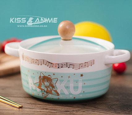 Hatsune Miku Instant Noodle Bowl AndChopsticks Set