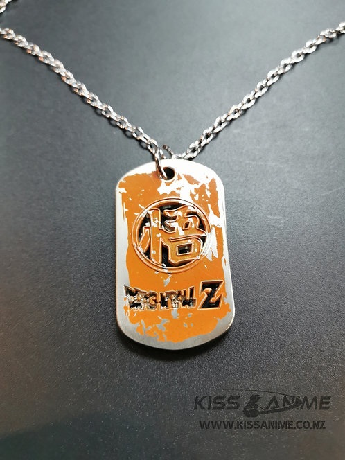 Dragon Ball Z Dog Tags Pendants Necklace