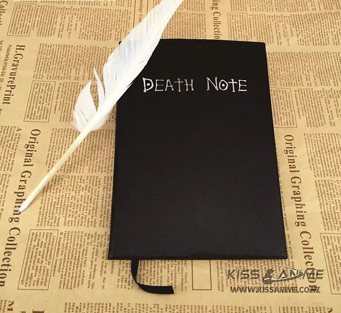 Death Note Book Cosplay Notebook
