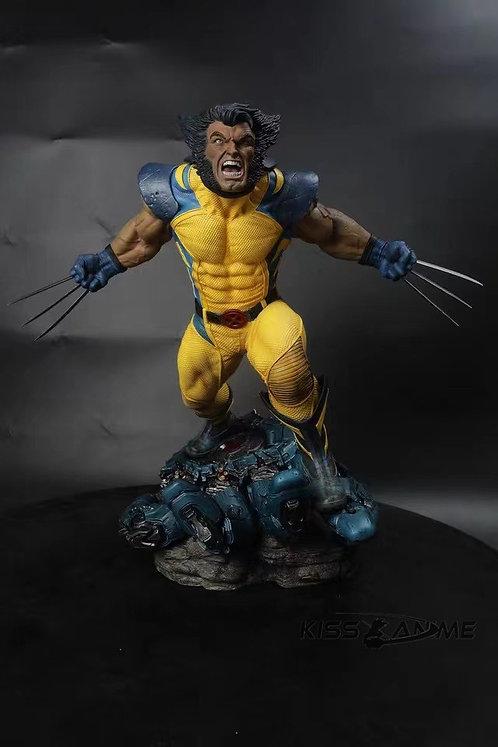 Marvel Wolverine X-Men 1/4 Logan Gk Resin Statue
