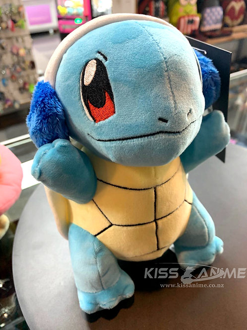 Pokemon New Squirtle WCT with headset earpiece Plush Toy
