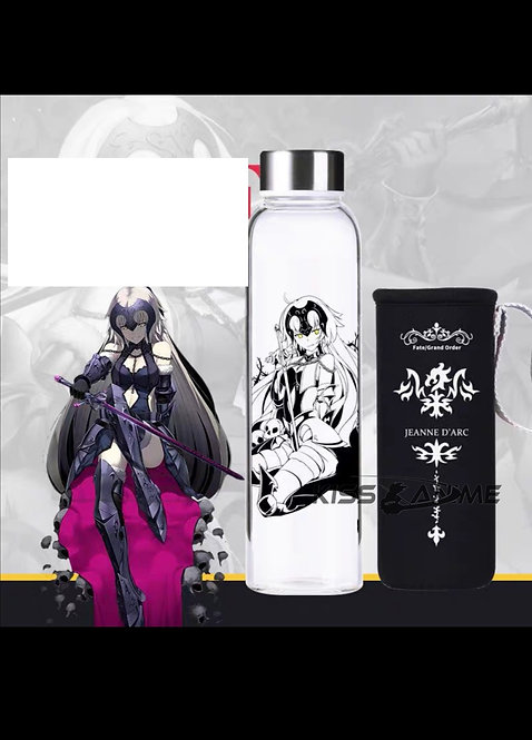 Fate/Apocrypha Jeanne d'Arc Glass Bottle