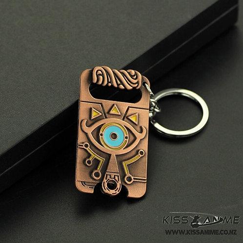 Zelda Sheikah Slate Keychain