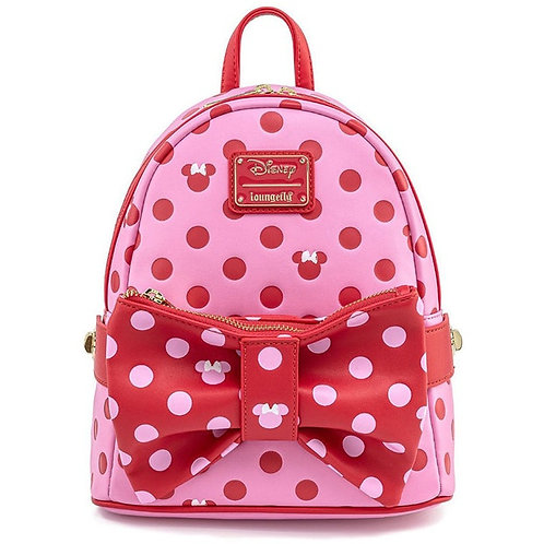 Loungefly Mickey & Minnie Mouse Mini Backpack