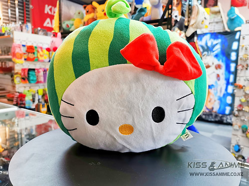 Hello Kitty Watermelon Head Plush Cushion