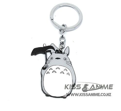 Cute Totoro Metal Figure Keychain