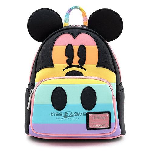 Disney Mickey Mouse Pastel Rainbow Mini-Backpack