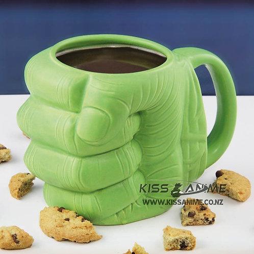 Marvel Avengers Hulk Fist Shaped 3D Ceramic Mug