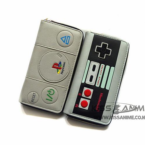 PlayStation & Nintendo Gamer Long Wallets