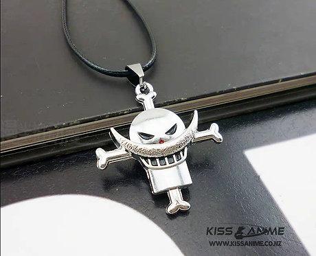 One Piece Whitebeard Pirates Pendant Necklace
