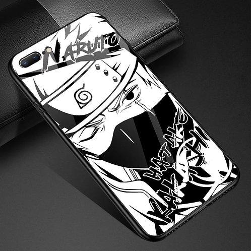Naruto Kakashi Hatake Tempered Glass Phone Case