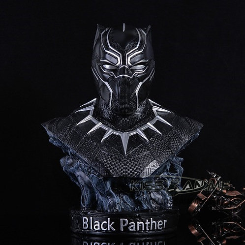 The Avengers Black Panther Bust Resin GK Resin Statue