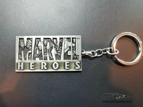 Marvel Heroes Keychain