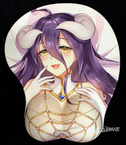 Overlord Albedo 3D Anime Girl Mouse Pad
