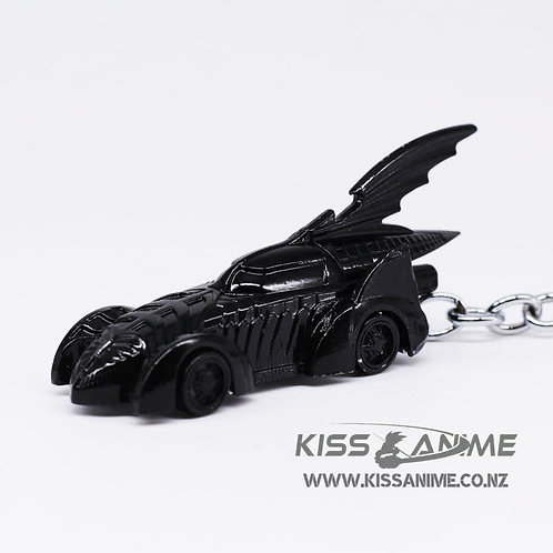 Batman Car Batmobile Metal Keyring