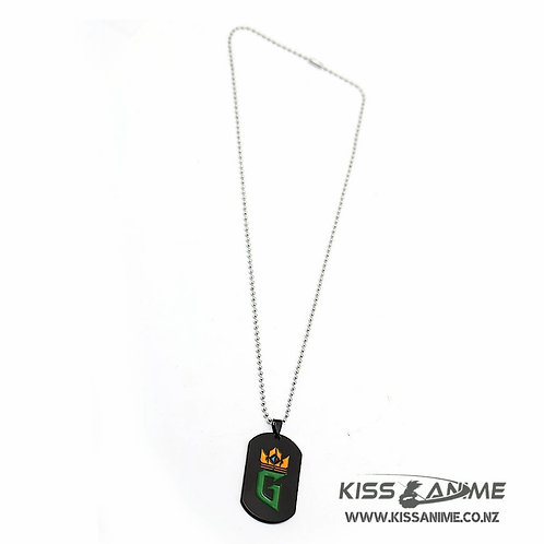 Gwent: The Witcher Card Game Dog Tag Pendant Necklace