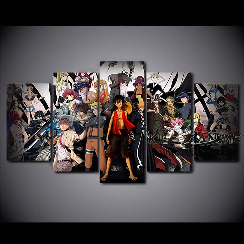 Popular Animes Canvas Painting
