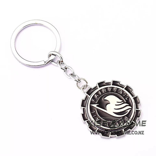 Fairy Tail Keychain Rotatable Key Rings