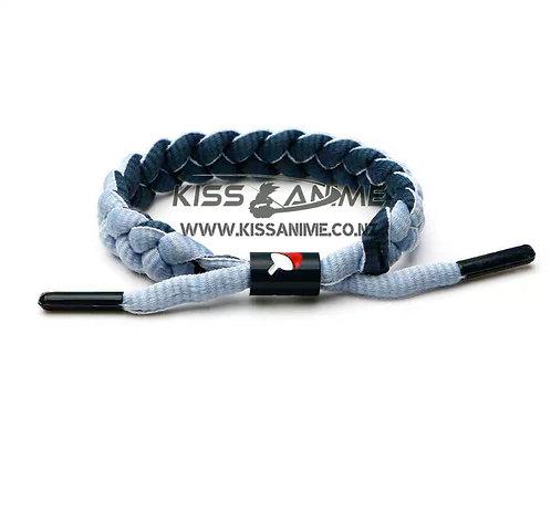Naruto Uchiha Symbol Shoelace Bracelet