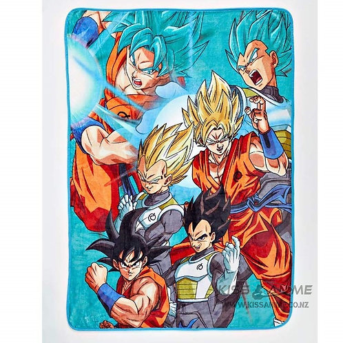 Dragon Ball Super Goku & Vegeta Blanket