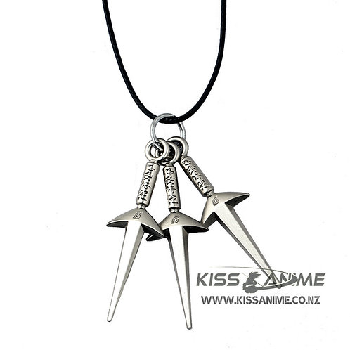 Naruto 3 Kunai Pendant Necklace