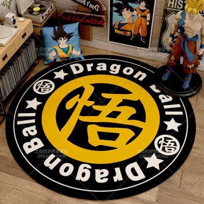 Dragon Ball Z Circle Carpet