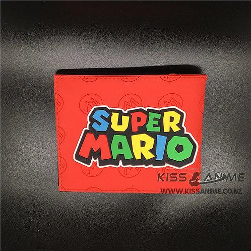 Super Mario Silica Short Wallet