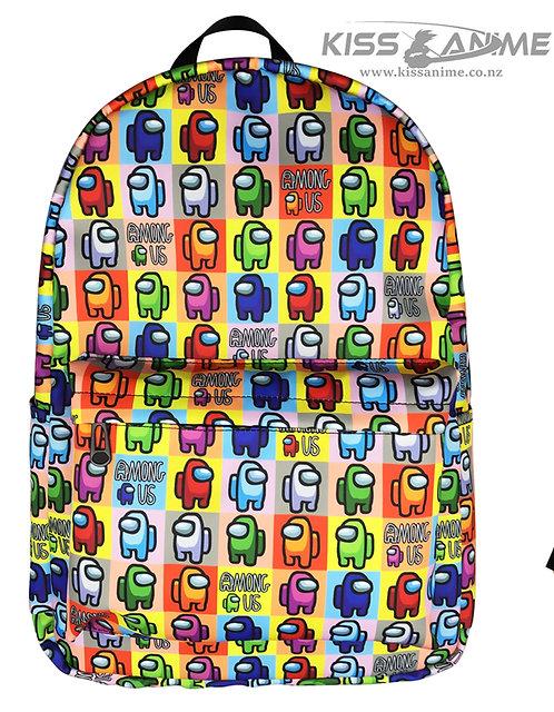 Among Us Backpack School Bag