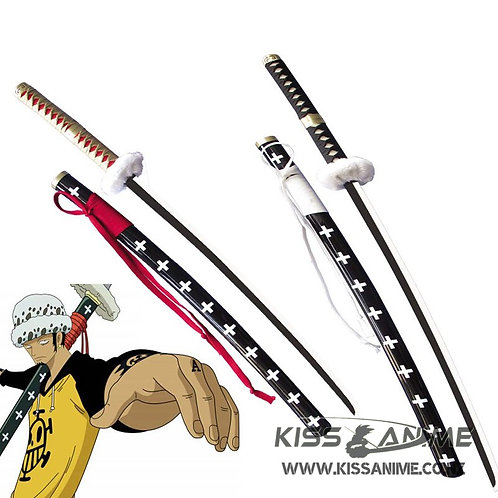 One Piece Trafalgar Law Sword (Red LONG Version)