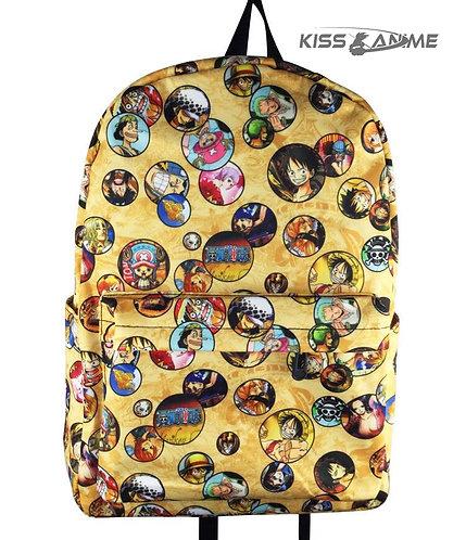 One Piece Backpack School Bag