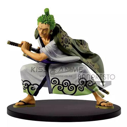 Roronoa Zoro Wanokuni Figure One Piece King of Artist
