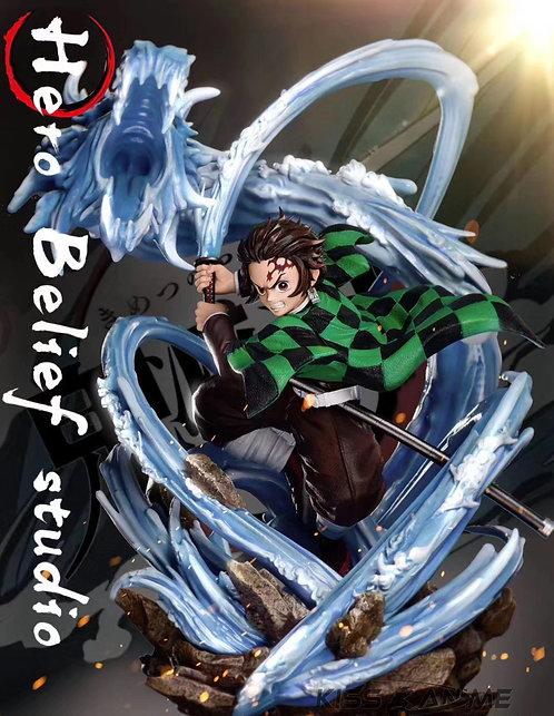 PRE-ORDER Hero Belief Studio -Demon Slayer Tanjiro Kamado 1/6 Scale Gk Statue