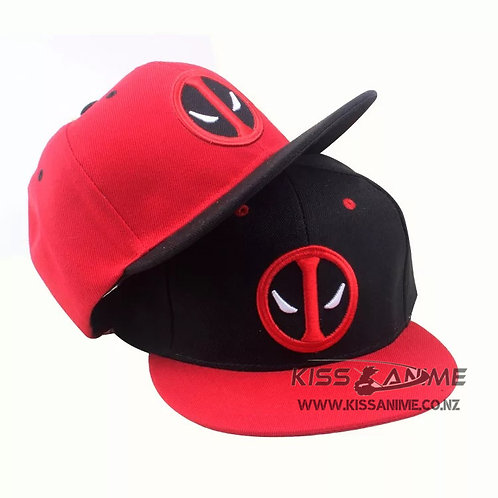 Deadpool Hat Snapback- 3 Styles