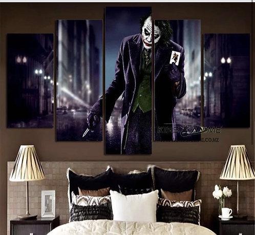 DC Comics Joker(Heath Ledger) Canvas Painting