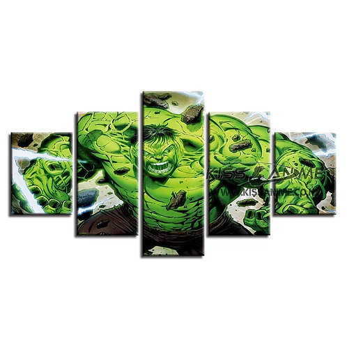 Marvel Hulk Canvas Painting