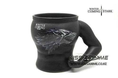 Game Of Thrones 3D Mug - Winter Coming Stark