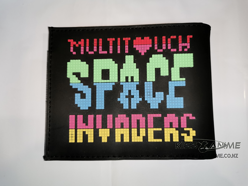 Multitouch Space Invaders Wallet