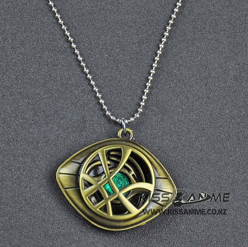 Marvel Avengers Doctor Strange Infinity Time Stones Necklace