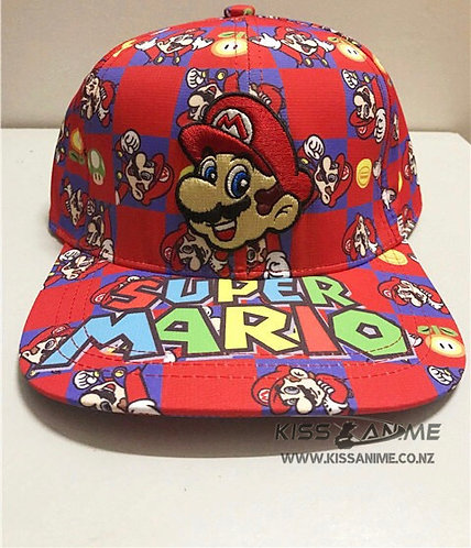 Super Mario Brothers Hat Snapback