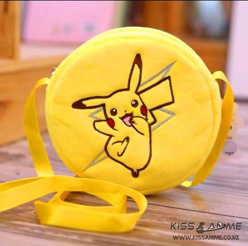 Pokemon Pikachu Round Messenger Bag