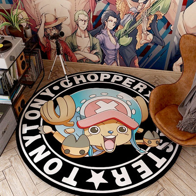 One Piece Tony Tony Chopper Circle Carpet