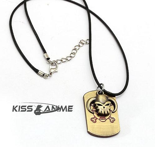 One Piece Ace Symbol Pendant Necklace