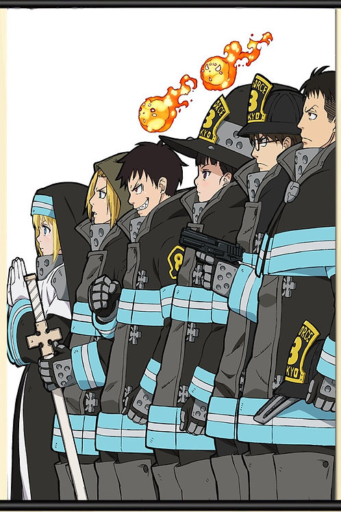 Fire Force Posters