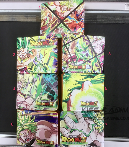 Dragonball Super Broly Wallet - 7 styles