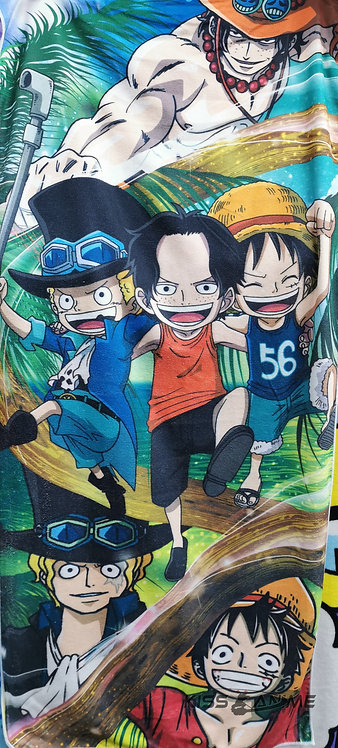One Piece The 3 Brothers Towel